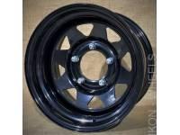 Диск колес Р15 УАЗ Magnum MG82 5*139.7 15*8 D110.5 ET-19 черный