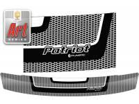 Дефлектор капота UAZ Patriot 2005-2014 (Classic черный)