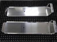 Защита топливных баков на новый УАЗ Патриот (алюм. лист 4 мм)
