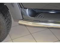 Защита порогов на новый УАЗ Патриот 51 мм (нерж.)